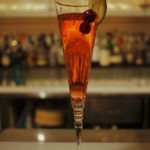 cramberry champagne cocktail